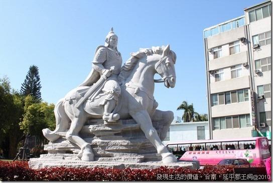 沒有圍牆也不用門票的「延平郡王祠」在台南