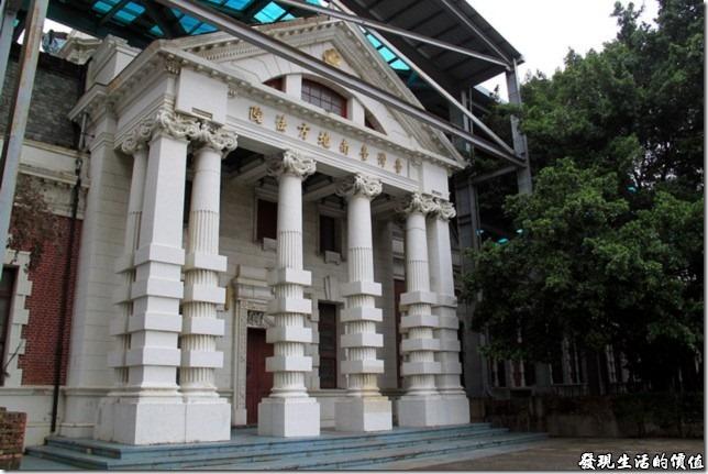 曾經見證愛情的舊台南地方法院的巴洛克式建築