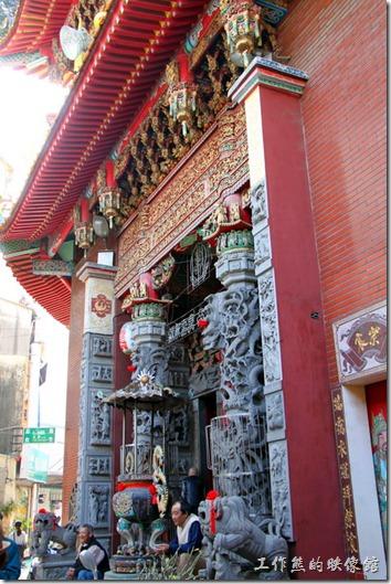台南-神農街老街。「藥王廟」,在神農街尾。
