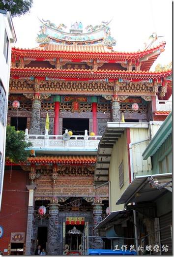 台南-神農街老街。藥王廟