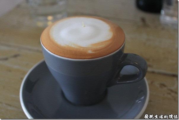 台南-甘單咖啡(老房子),熱卡布其諾
