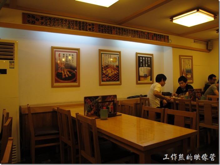 大吉古羊店一樓的店內裝潢。