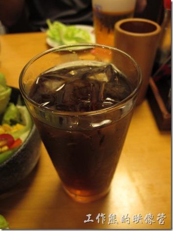 上海-大吉日本燒烤。非常淡的烏梅汁。