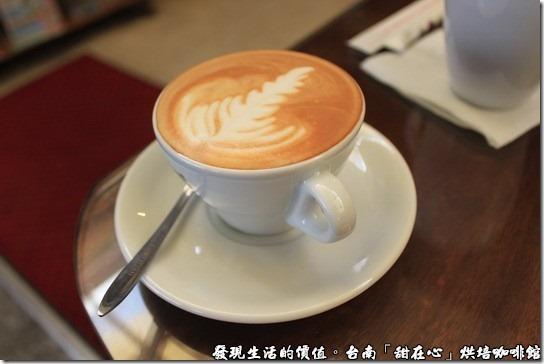 台南甜在心烘培咖啡館,卡布奇諾咖啡