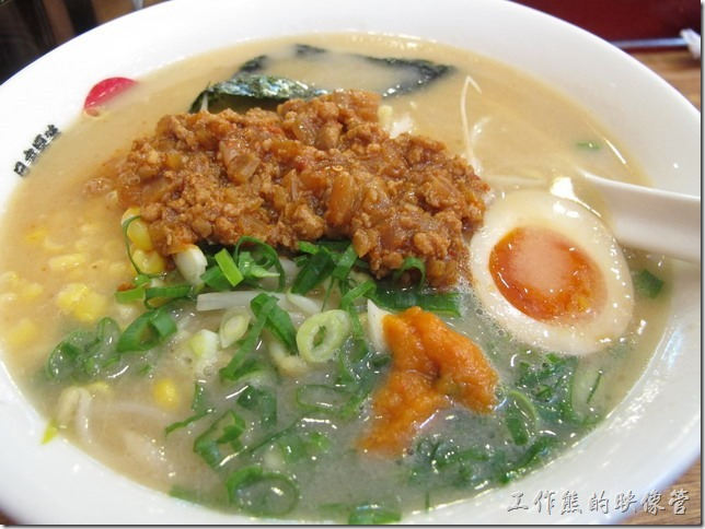 台北-日本六丁目拉麵的招牌六丁目拉麵
