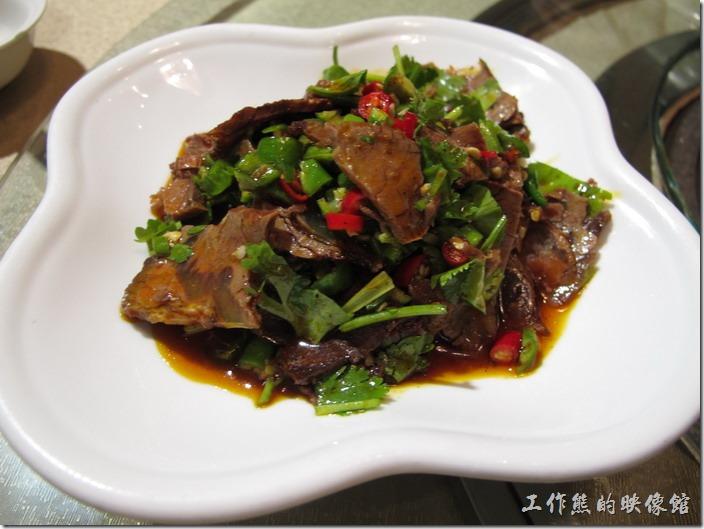 上海-干鍋居(貴州黔菜)。鮮椒牛肉,RMB$29。