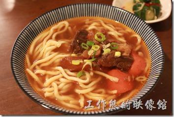 台東-甘盛堂,牛肉筋麵。