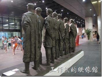 上海-中華藝術宮。紅軍長征的將領們。看到這個,我無言了….