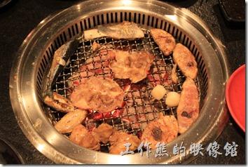 台南-逐鹿焊火燒肉。烤肉。