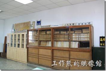 高雄-鐵道故事館。台鐵的文物資料,借閱需要預約。
