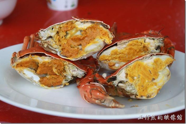 [台南]秋冬近吃螃蟹去!土城海產美味的處女蟳