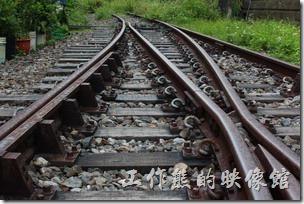 鐵支路是平溪線的一大賣點