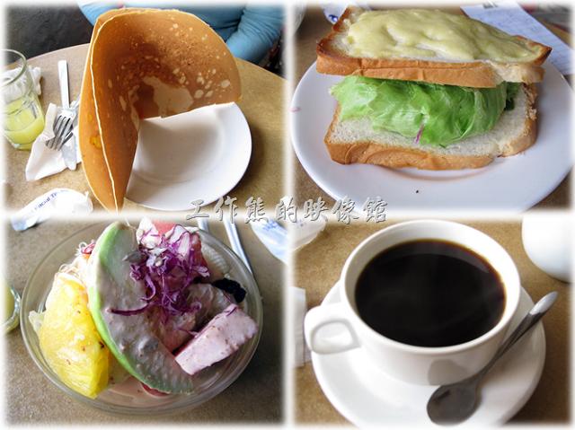 「伊莉的店」是台南老字號的早午餐店了,而它也是我在台南第一次吃「早午餐」的開始。已經記不得是多久以前的事了,但我依稀記得當初第一次來吃完早午餐後的感覺「台南人怎麼這麼有錢?又有閒?」,