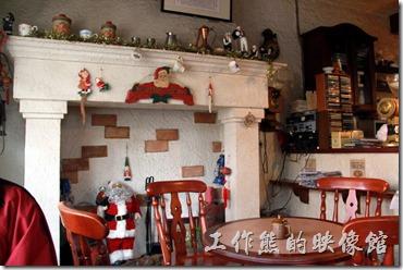 台南-伊莉的店。慶中街「伊莉的店」店內的環境。