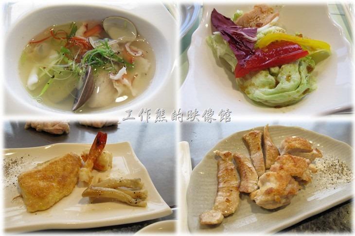 這間位於台南市府前路上的【上品】高級鐵板燒餐廳在台南市雖然算不是一甲子以上的餐廳,但它卻是台南是最早的鐵板燒餐廳,而且據說開業已經有三十年以上的歷史,所以應該可以算是老字號的餐廳了,這間餐廳一般以商務客為主。因為位於12樓,所以這裡沒有吵雜的環境,而且還可以鳥瞰孔廟園區附近的風景,是個不錯的商務宴客場所。