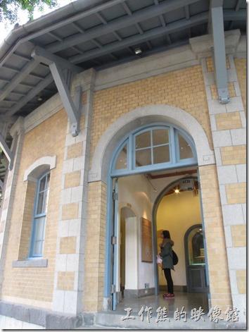 台南-『南區氣象站』的主入口。