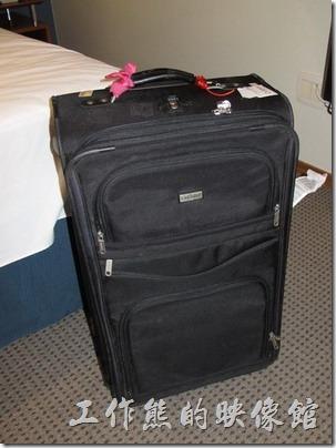 在巴西歷劫歸來的行李箱