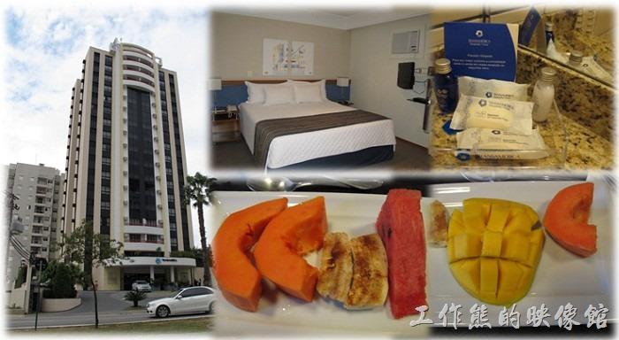 這已經是我第四趟到巴西的了,不過到【索羅卡巴(SOROCABA)】出差還是第二次,這次住在【TRANSAMERICA EXECUTIVE THE FIRST】飯店,應該算是當地不錯的飯店了,飯店的設施有健身房、遊戲間、游泳池(室內游泳池)…等,也有免費無線網路