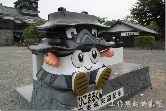 日本北九州-熊本城。這卡通人物造型的熊本城玩偶真的太可愛了。