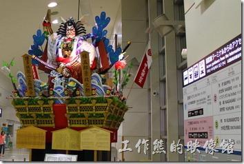 日本北九州自由行-福岡空港山笠