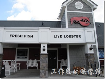 Louisville的RED Lobster餐廳外觀。