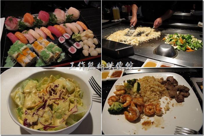 美國-路易斯威爾(Louisville) Sake Blue日本料理。來到美國出差好幾天了,每天吃的幾乎都是「肉」,好不容易在附近找到一家日本料理店【Sake Blue】,這應該是一家連鎖店,其實要在美國想找到一間不是連鎖的餐廳還真的有點難。總之在美國這家【Sake Blue】算不吃就是了,不過也別期望可以有台灣或是日本在地的那麼道地的料理。