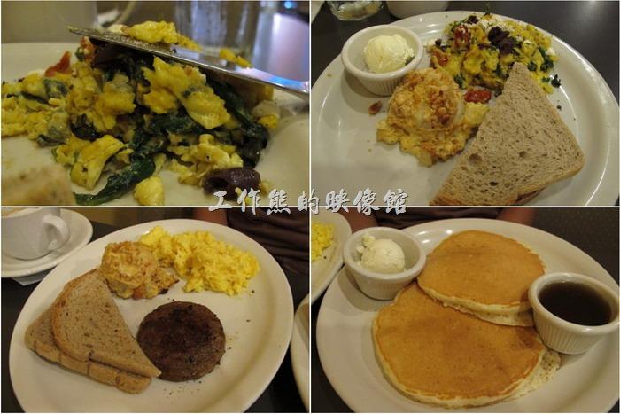 這間【Toast On Market】在【路易斯威爾(Louisville)】算是蠻有名的早午餐店(Brunch),當天(星期天)光顧的時候門口排了好多人,還好只等了15分鐘就有位置。看它的樣子應該有兩個房子的大小,大概是因為生意太好,所以把隔壁的房子也租或買了下來吧!生意真的超好,我們吃完早餐大概九點、十點了,門口還是一堆人在排隊,還比我們到的時候人還多。