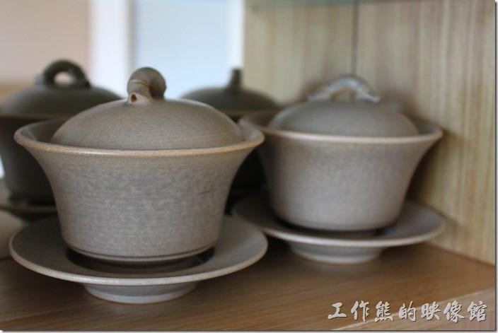 南投日月潭-雲品酒店。客房內的茶杯也很講就,應該都是名家的手製茶杯。