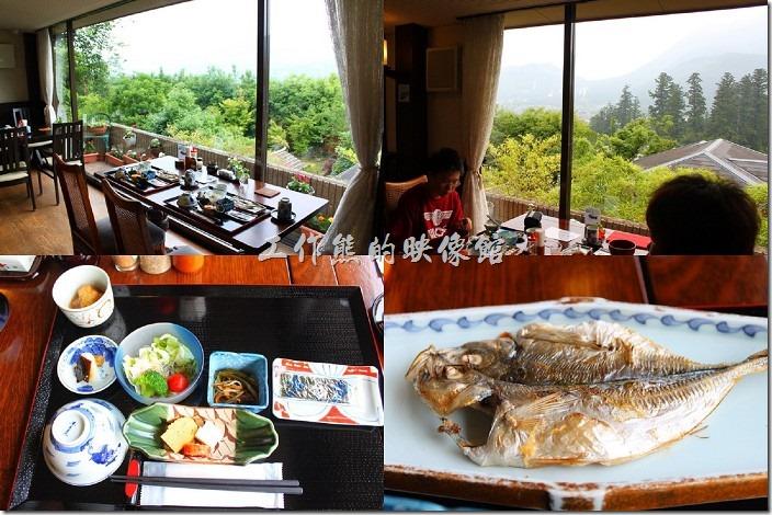 日本北九州自由行的第三天入住日本柚富之鄉的彩岳館【Yufuno go saigakukan】溫泉飯店,晚上泡個溫泉放鬆身心再睡個美容覺,早上起床後,稍事盥洗,準備來享受一頓傳統、美味、營養又豐盛的日式早餐,養足一天的活力,準備出發前往下一站。