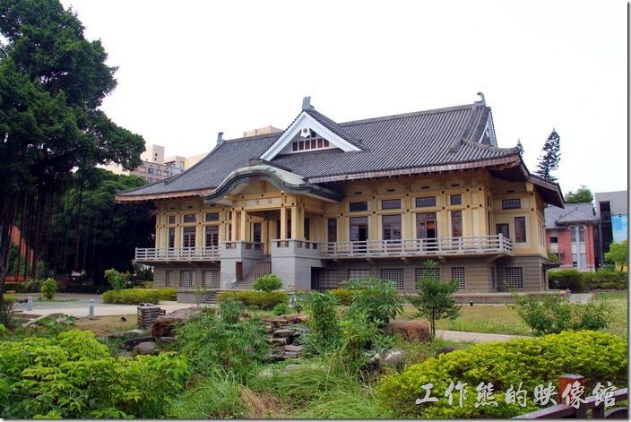 台南忠義國小的禮堂-武德殿