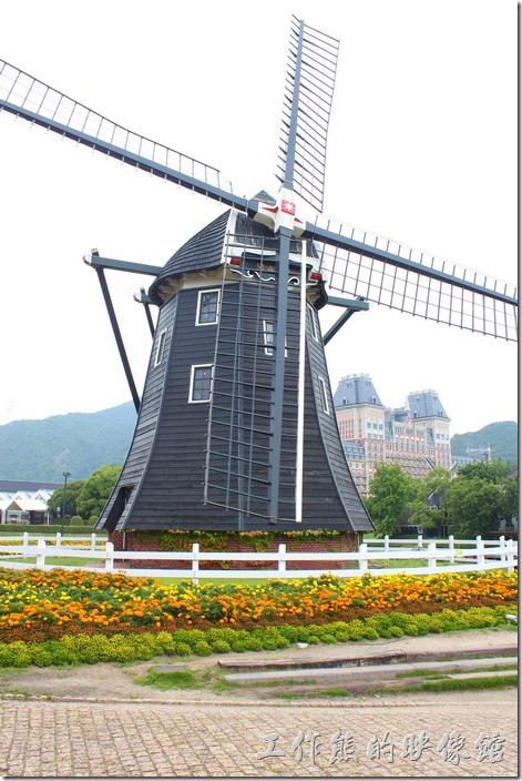 日本北九州-豪斯登堡。有些風車開放參觀,不過外行的看看熱鬧啦!