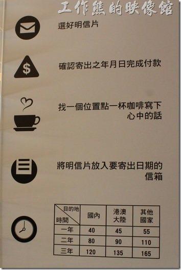 台南-L B_Coffee綠色咖啡廳-時空名信片