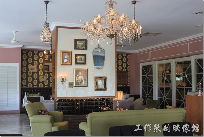 台南-瑪莉洋房(Marie's House)。美輪美奐的瑪莉洋房內部景像。