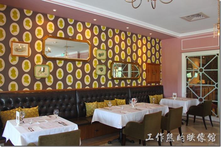 台南-瑪莉洋房(Marie's House)的餐廳景色。