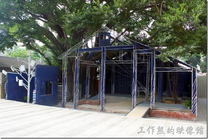 台南-西門路上司法宿舍群的藍晒圖2.0。