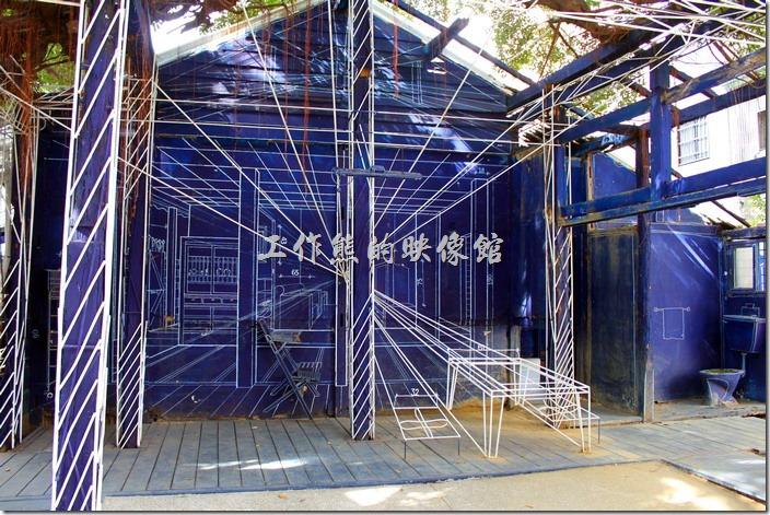 2014/12/16更新:新的【藍晒圖2.0】已經於2014.12.05在台南市的西門路一段原「司法宿舍」重生並由原來的2D平面進化成了3D立體圖了