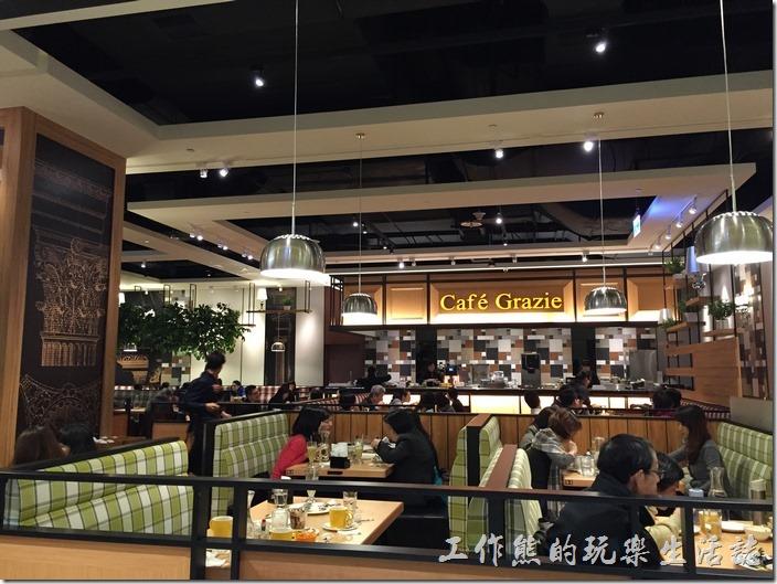 南港-中信總部A棟二樓-古拉爵(Café Grazie),義式餐廳。