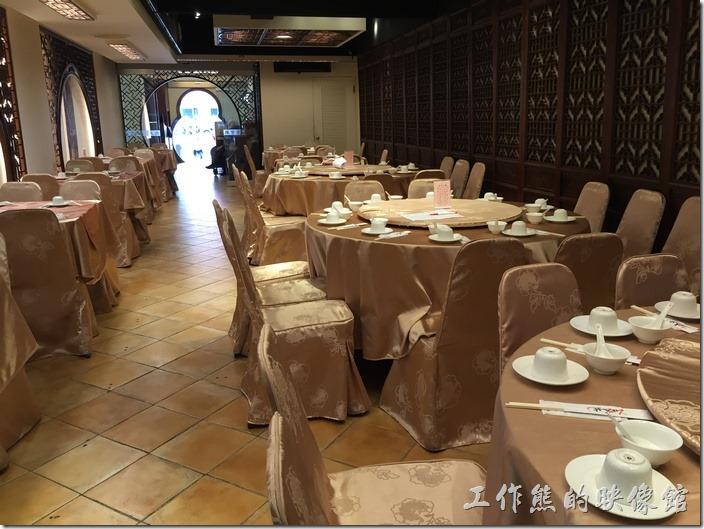 台北南港-北大莊川味館。南港北大莊的環境。