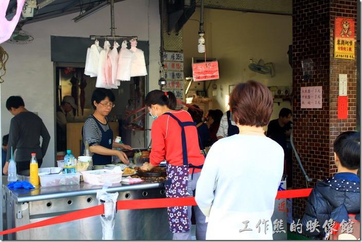 南東興蚵嗲的店面。