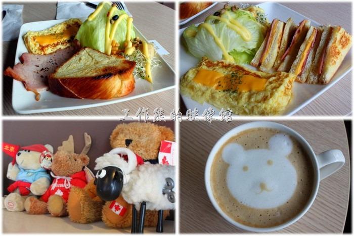 〔蒂兒咖啡館〕是我到目前為止在台南市吃過最便宜的一家早午餐(Brunch)咖啡館,它的定價大概只有NT$100元左右,除了主餐外,還包含一杯NT$30元的飲料,也可加差價換成其他飲料,照例我跟老婆都換成了熱拿鐵與熱卡布奇諾咖啡,兩人份的早午餐吃下來總價才花了NT$240元,幾乎只有其他早午餐的半價或三分之二的價錢。不知道是否因為是自己的店面,所以比較沒有資金的壓力。