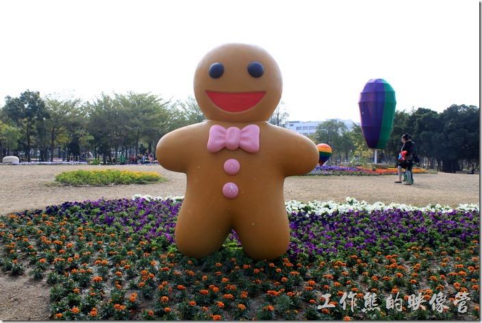 台南-2015百花祭。來自英國的薑餅人。