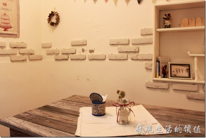 台南-Season_Cafe。二樓的小包廂。