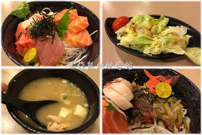 台北南港-船屋平價日本料理。[台北南港]船屋平價實惠的生魚片丼(蓋)飯