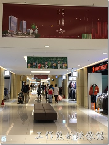 CITYLINK南港店一樓商場。