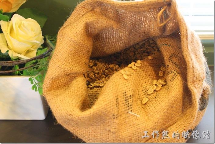 這就是咖啡豆。