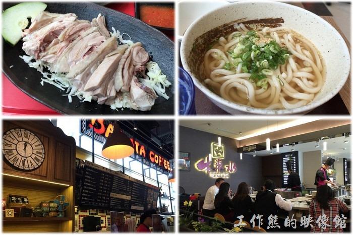 台北南港中信總部C棟三樓美食街餐廳啟用囉!