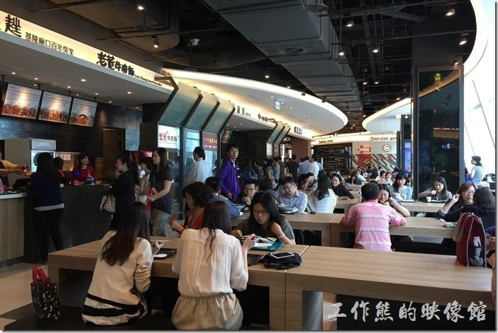 台北南港中信三樓美食街29