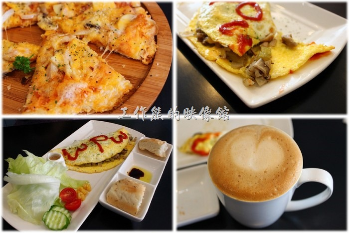 [台南]巫比屋咖啡輕食甜點屋,早午餐吃披薩