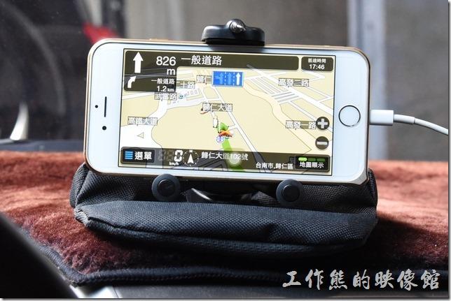工作熊從一開始就一直用這款「導航王」,還蠻好用的,當初辦中華電信是免費送的,就一直用到現在。