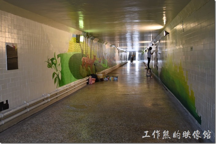 台南市衛民街地下道-新台壁-百會穴11